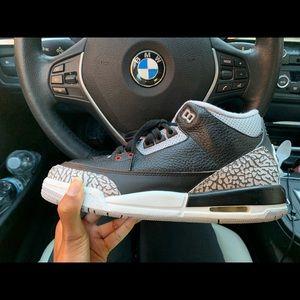 Air Jordan Black Cement 3's